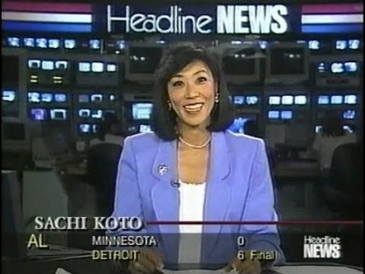 CNN Anchor Sachi Koto