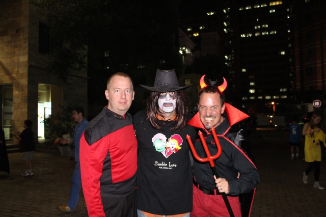 Joel, Dan and Billy SCIS Halloween 20112